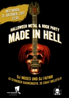 Made In Hell Flyer 2011